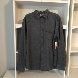 NEW Old Navy grey flannel shirt